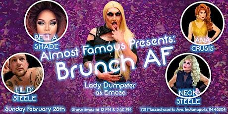 Almost Famous Presents: Brunch AF tickets