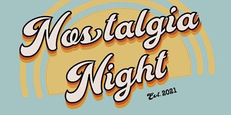 TU Nostalgia Night 2021 SHOW 1 tickets