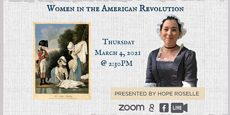 Women in the American Revolution tickets