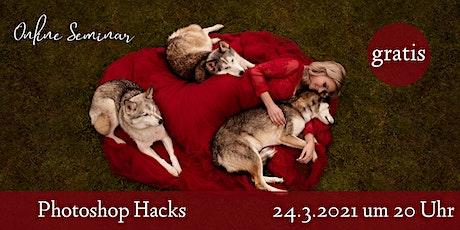 """Online Seminar """"Photoshop für Mensch-Tier-Fotografie"""" Tickets"""