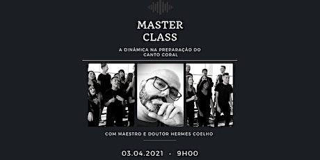 Master Class - Maestro Hermes Coelho ingressos