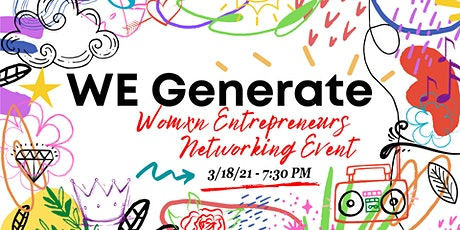 We Generate : A Space for Women & Non-Binary Creative Entrepreneurs tickets