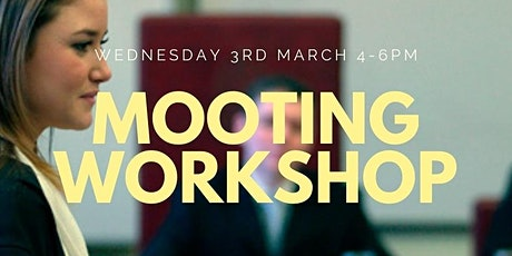 BAR SOCIETY MOOTING WORKSHOP tickets