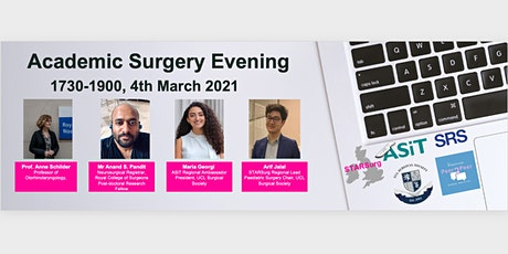 University College London's Academic Surgery Evening tickets