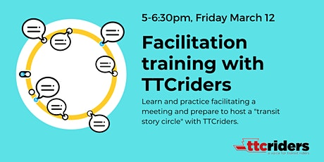 Facilitation training with TTCriders tickets