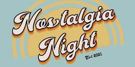 TU Nostalgia Night 2021 SHOW 2 tickets