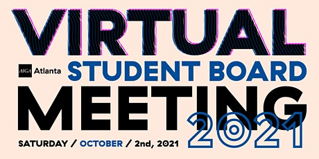Virtual Student  Board Meeting – October 2021 tickets