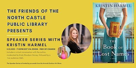 Author Talk with Kristin Harmel tickets