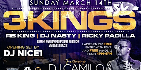 Pisces Bash SunDazed: with DJ Camilo*Ricky Padilla * DJ Nasty * RB King tickets
