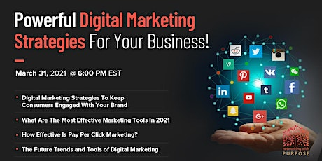Powerful Digital Marketing Strategies For Your Business tickets