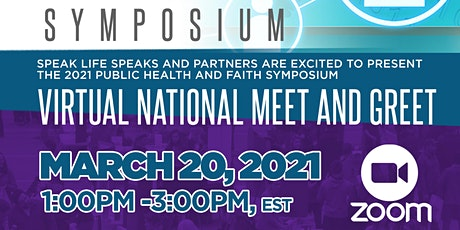 Public Health and Faith  Symposium National Meet and Greet tickets
