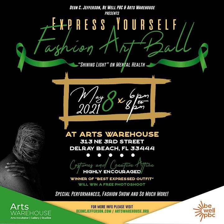 Express Yourself Fashion Art Ball image