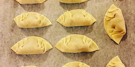 Home made dumplings online interactive workshop 2/4 tickets