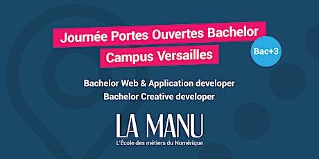 Portes Ouvertes - Bachelor Numérique à Versailles billets