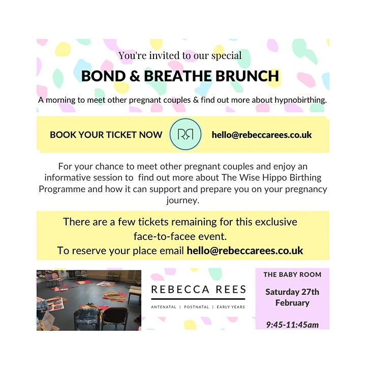 Bond & Breathe Brunch ~ Exeter Baby Room image
