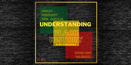 Understanding Black History: in St. Catharines tickets