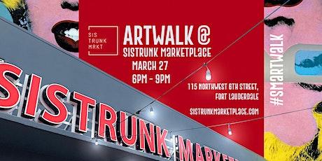 ARTWALK at Sistrunk Marketplace #SMArtWalk - SOLO ARTIST Featuring @AAKABO tickets