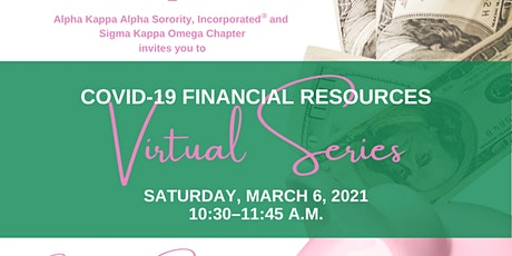 SKO COVID-19 Financial Resources Virtual Series tickets