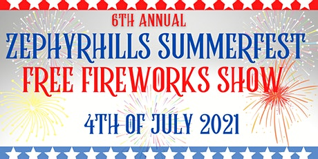 Zephyrhills Sumemrfest - 4th of July Fireworks Show tickets