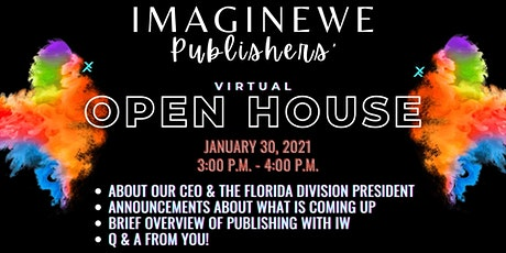 ImagineWe Publishers' Virtual Open House (3RD) tickets