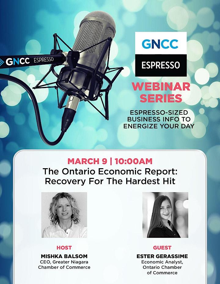 Espresso Live March 9: 2021 Ontario Economic Report image