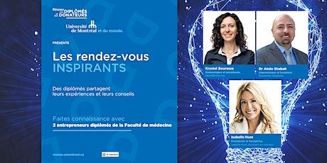 LES RDV INSPIRANTS | Des entrepreneurs en santé billets
