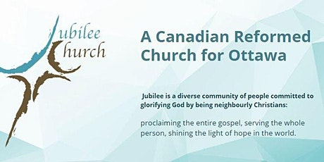 Sunday Worship at Jubilee Church Ottawa tickets