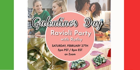 Galentine's Day Red Ravioli Party with Ruthy tickets