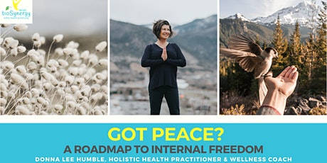 Got Peace? A Roadmap to Internal Freedom - Glenwood Springs tickets
