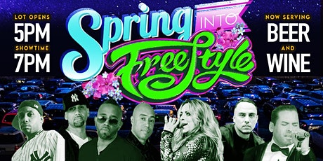SPRING INTO FREESTYLE!: Adventureland Drive-In Concert Series tickets