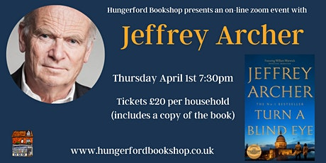 Jeffrey Archer Book Talk tickets