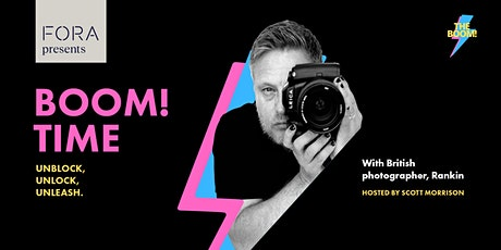 Boom! Time with British photographer, Rankin tickets