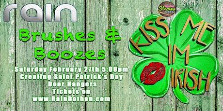 Brushes & Booze at Rain Dothan tickets