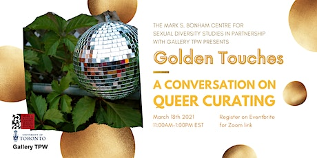 Golden Touches: A Conversation on Queer Curating tickets