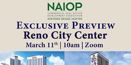 NAIOP Exclusive Preview: Reno City Center tickets