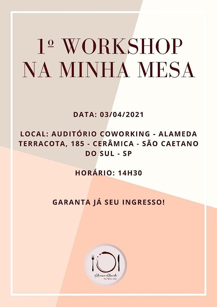Imagem do evento I Workshop NA MINHA MESA