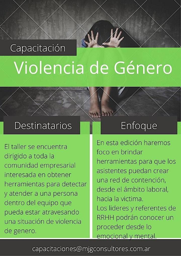Imagen de Workshop de Violencia