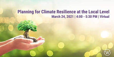 NEWIEE Planning for Climate Resilience at the Local Level tickets
