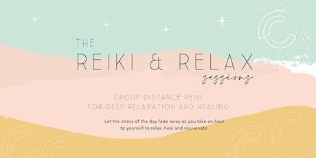 Reiki & Relax tickets