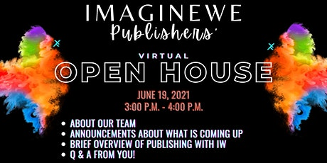 ImagineWe Publishers' Virtual Open House (2ND) tickets