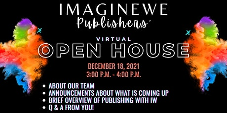 ImagineWe Publishers' Virtual Open House (FINAL) tickets