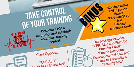 CPR/AED & First Aid Training Center Setup tickets