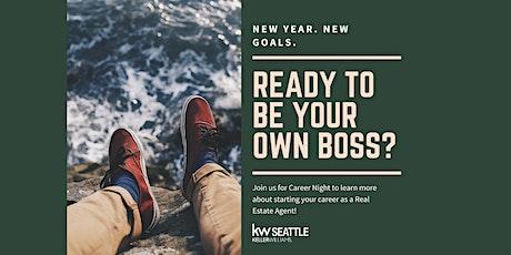 Keller Williams Seattle Virtual Career Event tickets