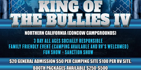King Of The Bullies IV tickets