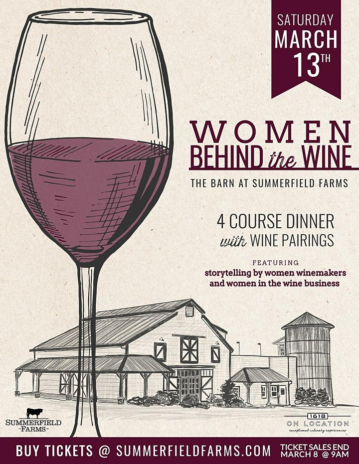 Women Behind the Wine Dinner image