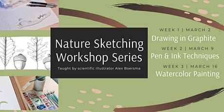 Nature Sketching Workshop Series with Farrington Nature Linc tickets
