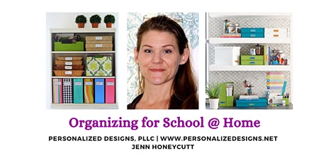 Organizing for School @ Home tickets