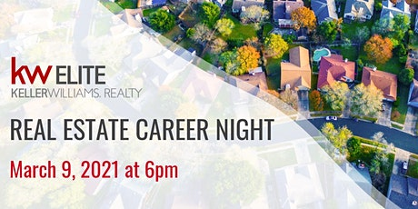Real Estate Career Night - March 2021 tickets