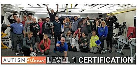 Autism Fitness Level 1 - East Brunswick - NJ -April- 10- 2021 tickets