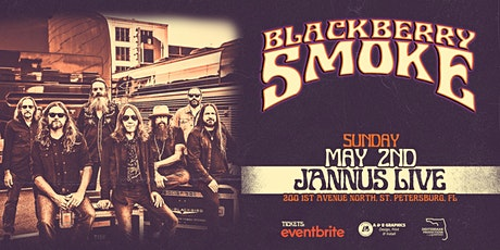 BLACKBERRY SMOKE - St. Pete May 2nd tickets